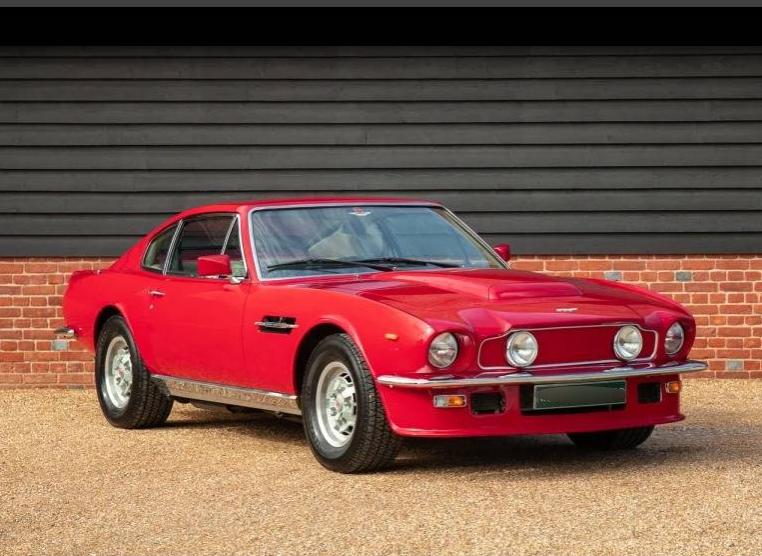1978 Aston Martin V8 Vantage Journey Of A Petrol Head